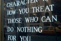 Words of wisdom / by Shuga Rhian Darling