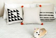 DIY pillows & more