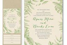 Pocket Wedding Invitations / A large variety of pocket wedding invitations