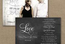 Chalkboard Wedding Invitations / Huge Selection of Chalkboard Wedding Invitations