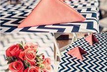 Chevron Stripes and Weddings / Ideas for your Chevron Inspired Wedding