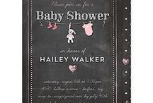 Baby Shower Inspirations / Lots of ideas for a baby shower including beautiful stationery