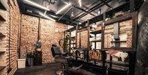 Barber Shop / Ispirazioni Urban per un Barber Shop firmato Cerasa