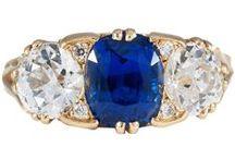 Sapphire & Diamond Rings | James Ness / Beautiful fine diamond and sapphire engagement rings available at James Ness & Son, Edinburgh.