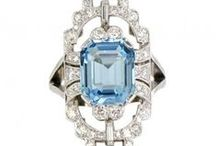 Art Deco Inspiration / Art Deco Rings & Jewellery available at James Ness & Son