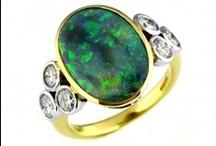 Gemstone Rings / Gemstone & Diamond Rings from www.jamesness.co.uk