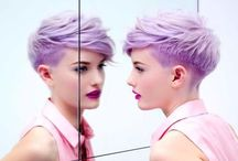 HAIR // color / Ideoita // värjäys.