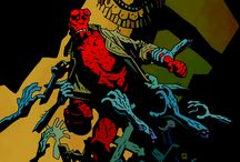 Mike Mignola!!! / My favorite comic artist of all time!