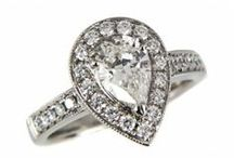 Diamond Engagement Rings / Collection of stunning diamond engagement rings.