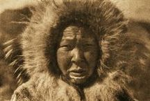 V. XX. The North American Indian / The North American Indian, volume 20. Written, illustrated, and published by Edward S. Curtis; edited by Frederick Webb Hodge; foreword by Theodore Roosevelt. This volume contains depictions of the Nunivak, the Diomede, the Noatak, and the Se;awik.