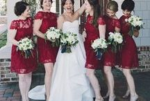 Ravenous in Red as Your Accent Color / In Persian literature, red poppies, especially red corn poppy flowers, are considered the flower of love. Check out beautiful red themed weddings.