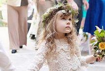 Adorable Flower Girls / Flower Girl dresses & ideas
