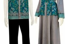 batik dress / women's fashion
