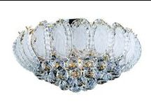Our Crystal Chandeliers / What everyone thinks of when they think chandeliers. Like a diamond for your roof.