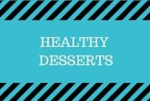 Healthy Desserts / Recipes for healthy cookies, muffins, brownies, donuts and all kinds of sweets!