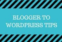 Blogger to Wordpress Tips / Resources for transitioning from a Blogger to Wordpress blog.  Learn how to transfer blogger to wordpress, how to change domain, how to install wordpress, how to find themes and plugins for wordpress, how to self-host on wordpress.