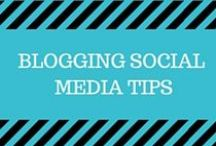 Blogging Social Media Tips / How to use Social Media to promote and grow your blog!  Using Pinterest, Facebook, Twitter, Instagram, Google+, Periscope, Reddit, SnapChat, Stumbleupon and more!