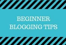 Beginner Blogging Tips / blogging, blogging resources, blogging tips, blogging tutorials, blogging for beginners, new to blogging, wordpress, email marketing, content marketing, blog traffic, seo, productivity, time management, wordpress plugins