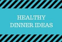 Healthy Dinner Ideas / Here is some inspiration for healthy dinners made with fresh ingredients! Pizzas, sloppy joes, chicken dishes and a lot more!