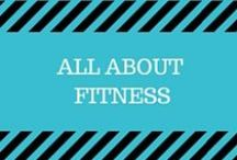 All About Fitness / A variety of workouts you should give a try including HIIT, cycling, barre, kettlebells, DVRT, circuits, Crossfit, squats, lunges, planks, burpees and more!  Learn how to strengthen your glutes, abs, upper body, and more!