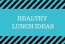 Healthy Lunch Ideas / Healthy and delicious ideas for lunch for home or to take to work - from salads to sandwiches and everything in between.