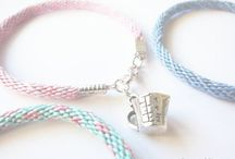 S W A N M A I D E N J E W E L S / Friendship bracelets, necklace, earring, winter and christmas jewelries for sale! Please visit https://www.etsy.com/ca/shop/SwanMaidenJewels