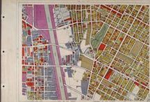 WPA Land Use Survey Maps, 1933-1939 / This board contains materials from The Works Progress Administration (WPA) land use survey maps for the City of Los Angeles, 1933-1939. The WPA maps show how land was used in the city of Los Angeles between December 18, 1933 to May 8, 1939.   More info here: http://bit.ly/1uVmDmd