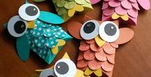 Paper crafts / ideas for using paper for various creative activities