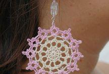 Crochet earring / Earring