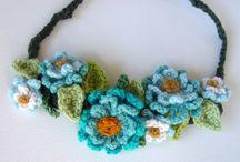 Crochet necklace / Necklace