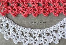 Crochet edging / Edgings