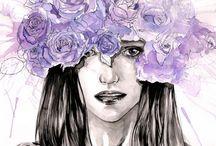 Regaux's watercolor art
