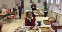 Charity fair, Christmas 2015 / Crafts that we did with my pupils for the fair.