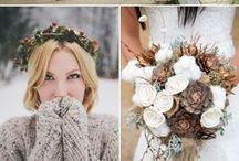 Winter Weddings / Beautiful Winter Wedding ideas