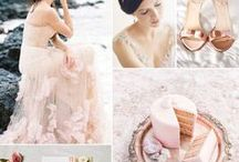 Pretty in Pink / Weddings adorned in pink, blush & rose gold!