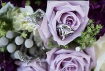 The Westfield's Golf Club Wedding~ / Lovely shades of purple, lavender and white~