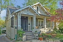 Atlanta Homes / There are some stunning Atlanta homes - from luxury mansions and estates in Buckhead to quaint cottages and bungalow homes in Virginia Highland.  Below you will find a collection of our favorite Atlanta homes ... enjoy!