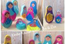 Kinder Knutsel Atelier / Eens in de maand kunnen kinderen vanaf 6 jaar in het atelier terecht, om op ontdekkingstocht te gaan in de creatieve wereld. Hier laat ik de mooie kunstwerken zien die door de kinderen zijn gemaakt bij Creatief Atelier Zus & Zus Venray
