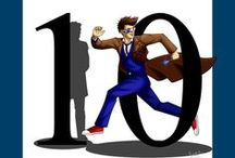Allons-y! / Ten is my Doctor and always will be. His enthusiasm was infectious and his Doctor, unparalleled.  / by Varsha