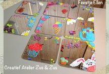 Kinderfeestjes / Ik geef in mijn Atelier een creatieve draai aan een groot of klein feest.