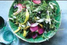 salads + slaws.