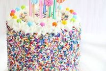 Happy Candy Cake / Cakes made out of candy to celebrate special moments #candy #cake #candycake