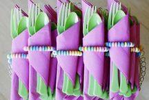 Kids Party Ideas / Fun and cute ideas for a kids party. candy, snoep, Süßigkeiten, karkkia, silk, konfekter, godteri, słodycze, cukierek, cukierków, конфеты, godis