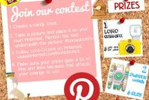 Pin&Win contest 2014 / Join the contest! The contest has been started on 12 December 2014 and ends at 12 January 2015. Participating is easy. Read the explanation in the image below. Join and win amazing prizes. More information at: www.lookolook.com