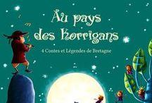 Pylb. Au pays des Korrigans. / Illustration jeunesse.