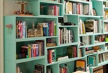 Where Did I Put My Book? (Bookshelves and Libraries) / Some great ways to display your books!