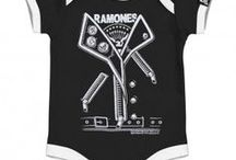 Baby Music/Band Clothing / Now You Can Show Off Your Favorite Bands Right At The Moment Of Birth With A Baby Bodysuit. Get One For Your Baby Before Those Tiny Rockers Grow Up!