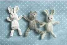 Miniature crochet and knitting