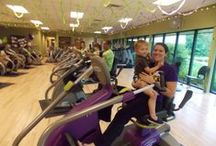 Exercise with baby