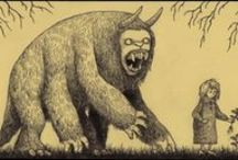Don Kenn Mortensen`s (& other`s) artworks. Nicely-nice monsters!